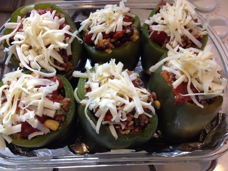 Stuffed peppers H