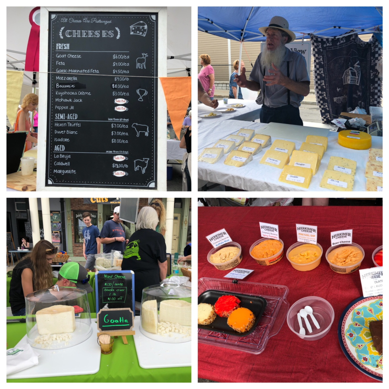 LF Cheese Fest collage