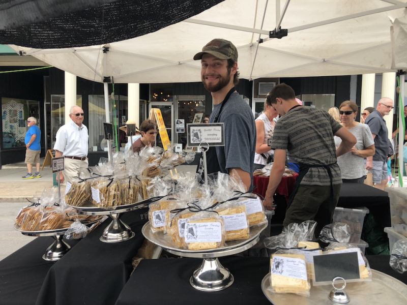 LF Cheese Fest Saratoga Crackers