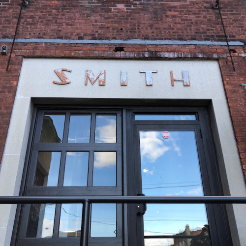 Smith lettering