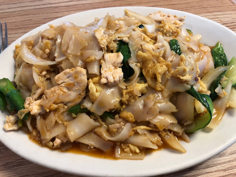 Utica Pho Mekong drunken noodles