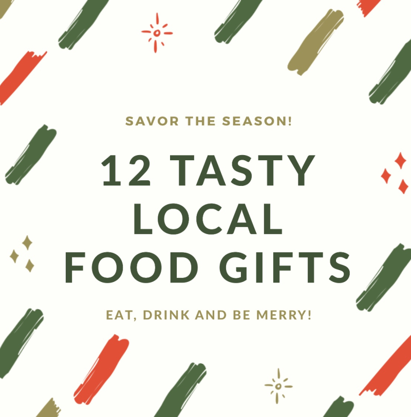 12 tasty local food gifts