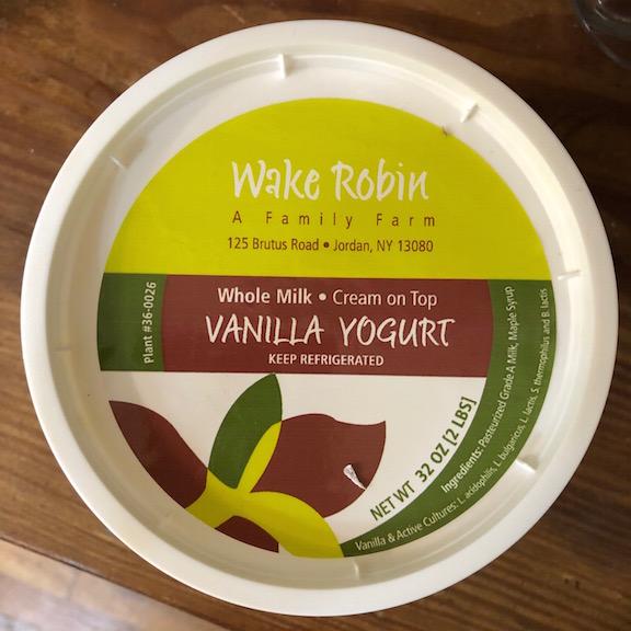 Wake robin label