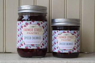 Farmer Street spiced cherries