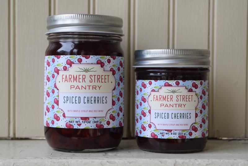 Farmer Street spiced cherries