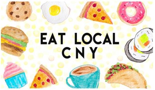 Eat Local CNY card