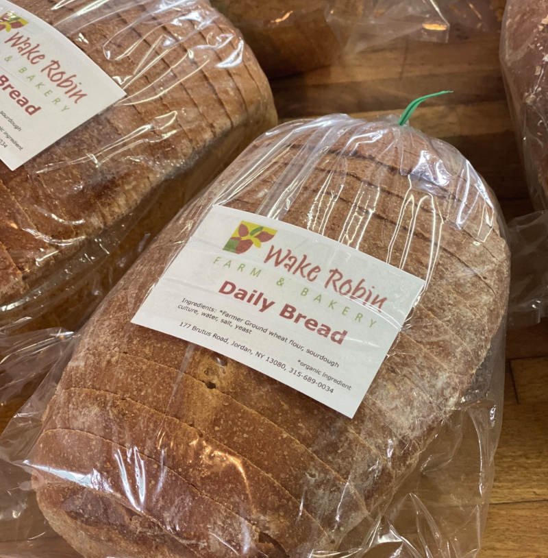 Wake robin bread