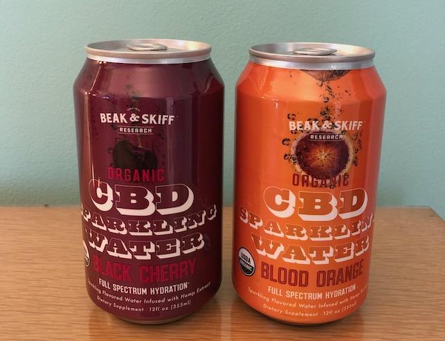 CBD seltzers cans